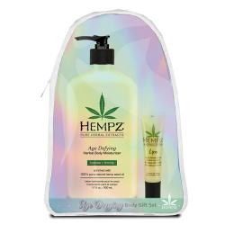 Hempz Gift Age Defying Body Set w/Lip Balm & Hempz Bag