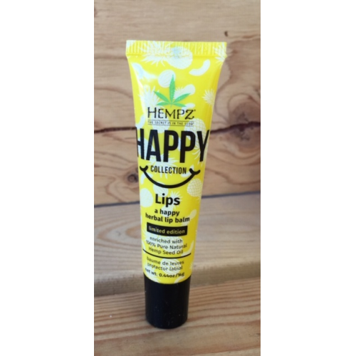 "Hempz Lips - ""Happy"" LE Lip Balm 0.44oz. Tube"
