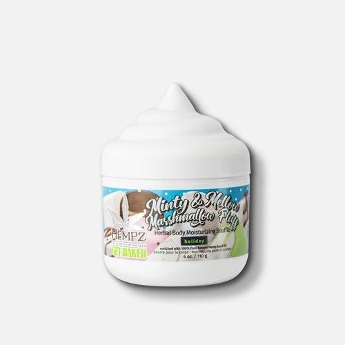 Hempz Minty & Mellow Marshmallow Fluff Herbal Body Moisturizing Souffle 4 fl.oz.