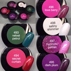Gel Colour (hard/pot gels)