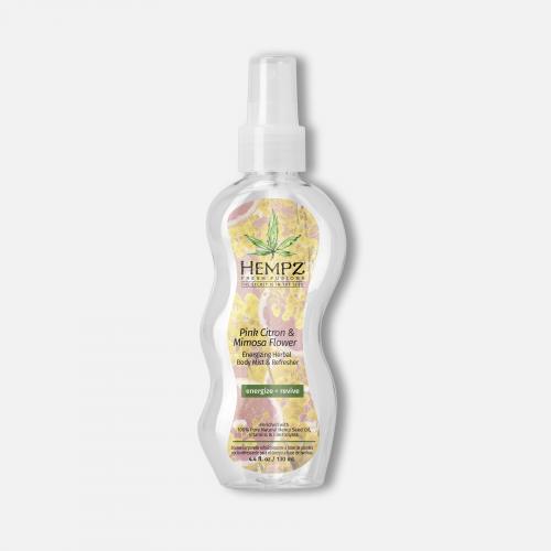 Hempz Pink Citron & Mimosa Body Mist -Fresh Fusion 4.4oz.