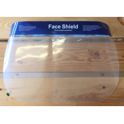 Face Shield - clear face covering - 1 pc.